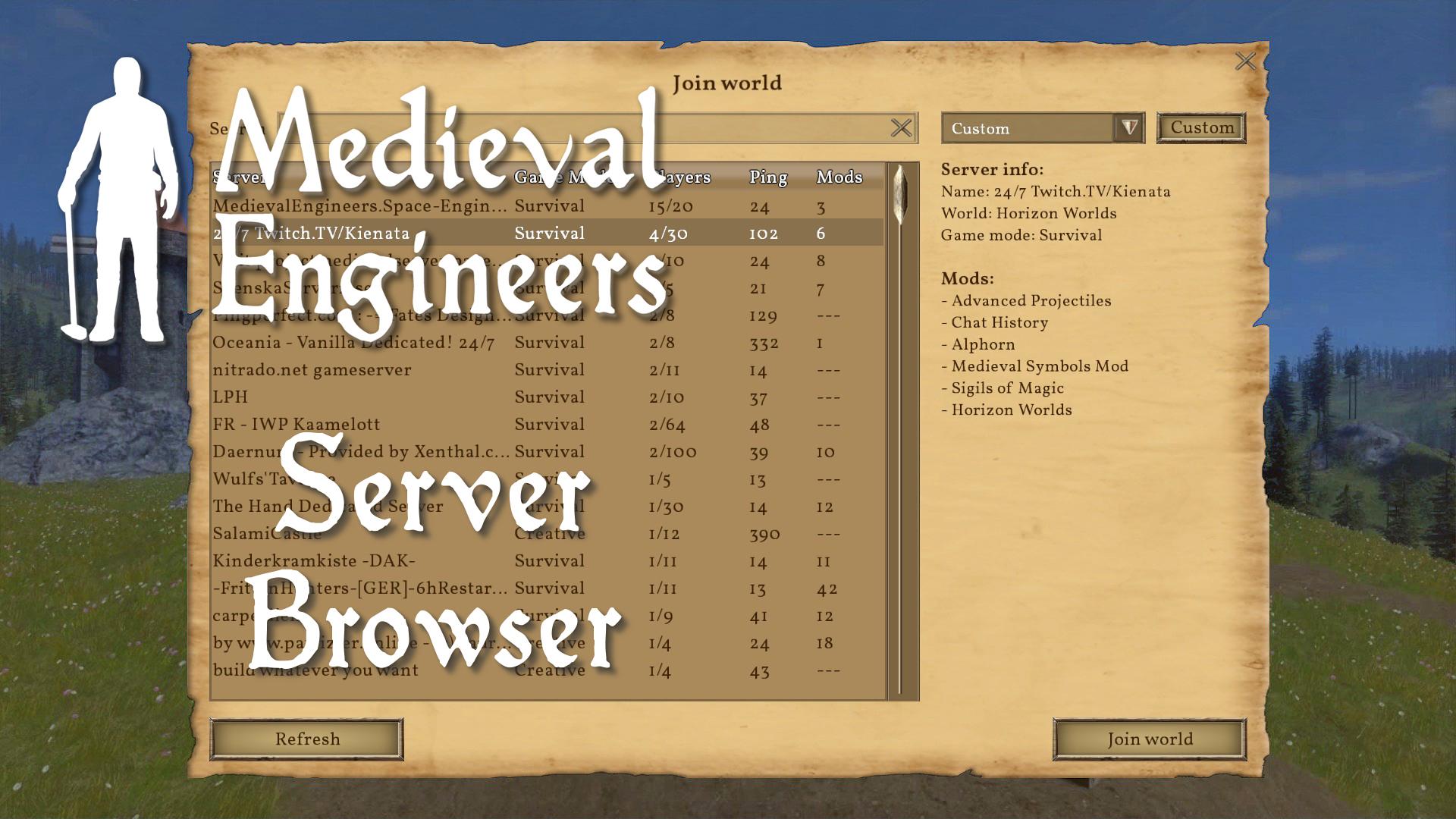 Coming Soon in 0 5: GUI Updates – Medieval Engineers